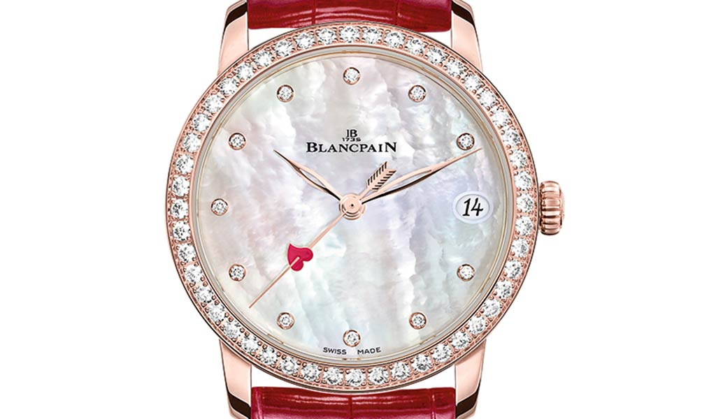 Новые женские механические часы Blancpain Villeret Saint-Valentin 2021