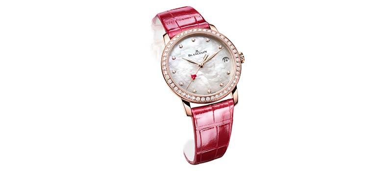 Женские наручные часы Blancpain Villeret Saint-Valentin 2021, новая модель ко дню влюбленных