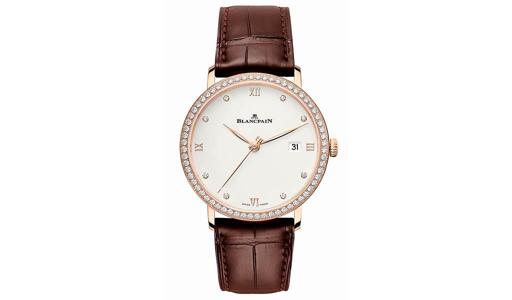 Ультратонкие часы Villeret от Blancpain
