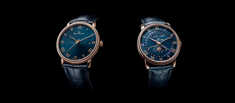 Две модели с синими циферблатами пополняют коллекцию Villeret