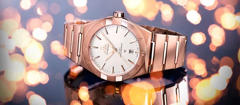 Часовой бренд OMEGA представили новую мужскую коллекцию Constellation