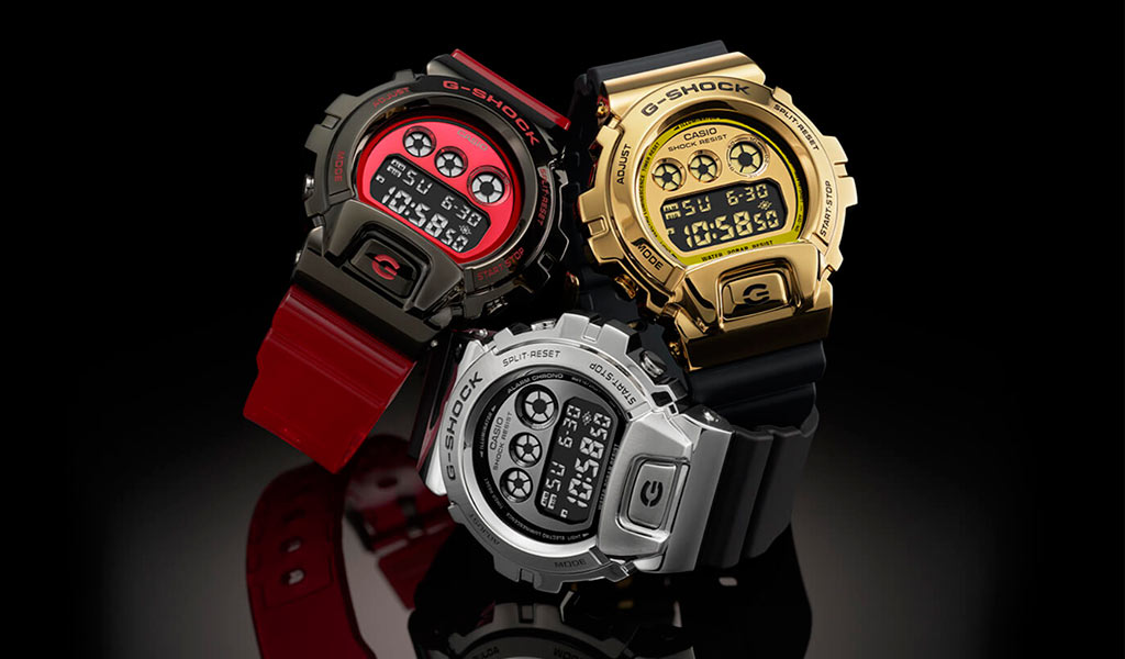 Часы Casio G-SHOCK GM-6900