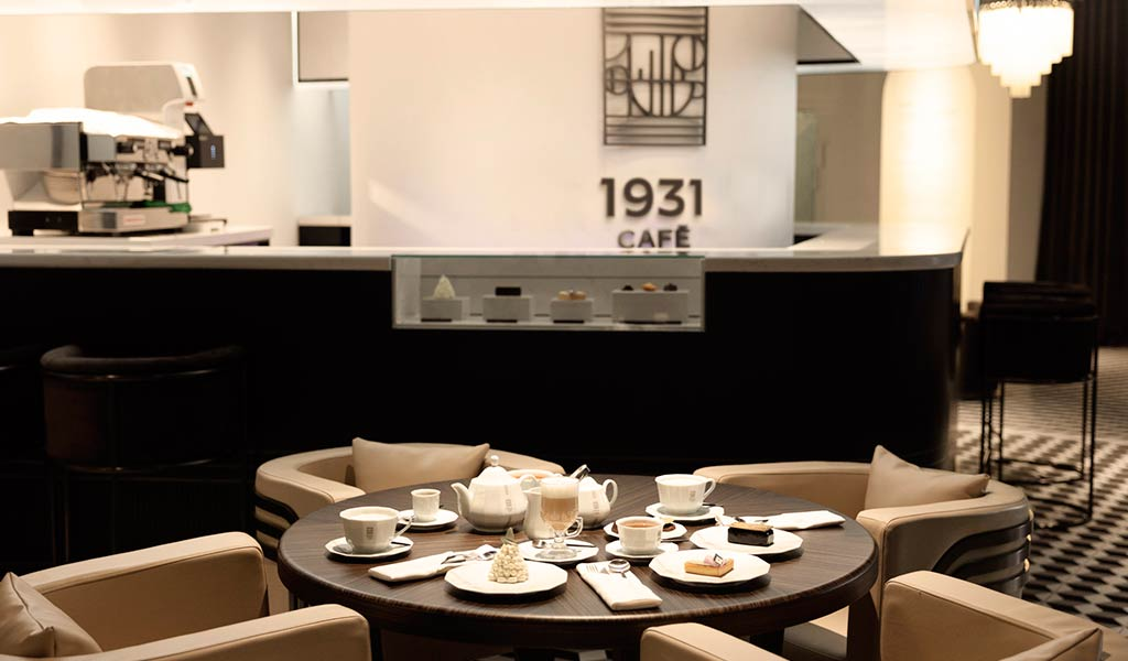 Новое кафе в Шанхае 1931 Cafe