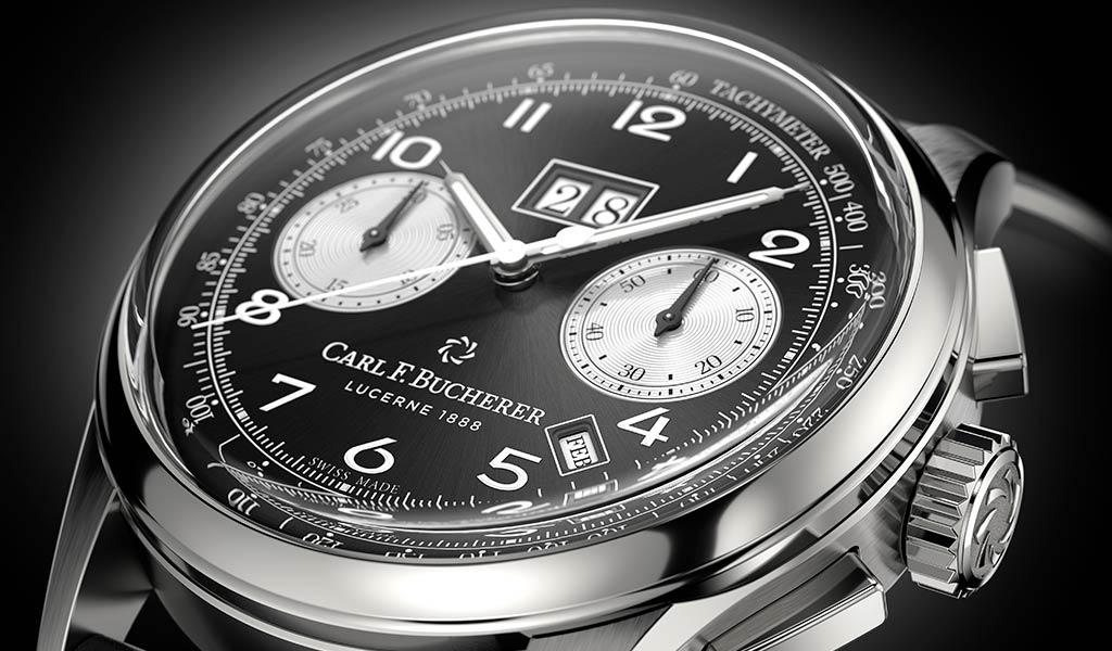Новый швейцарский хронограф Carl F. Bucherer
