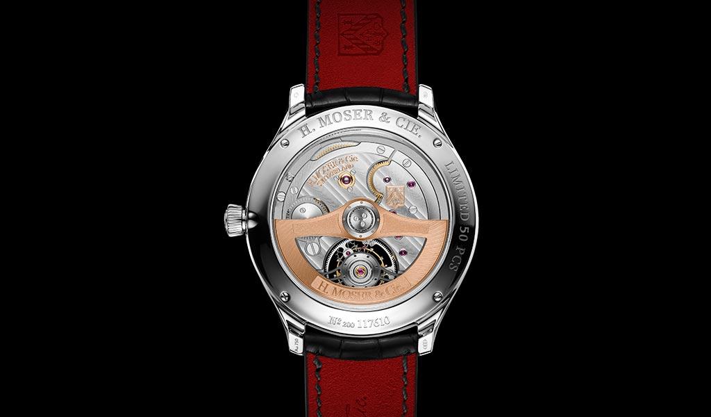 Часы H. Moser & Cie с турбийоном