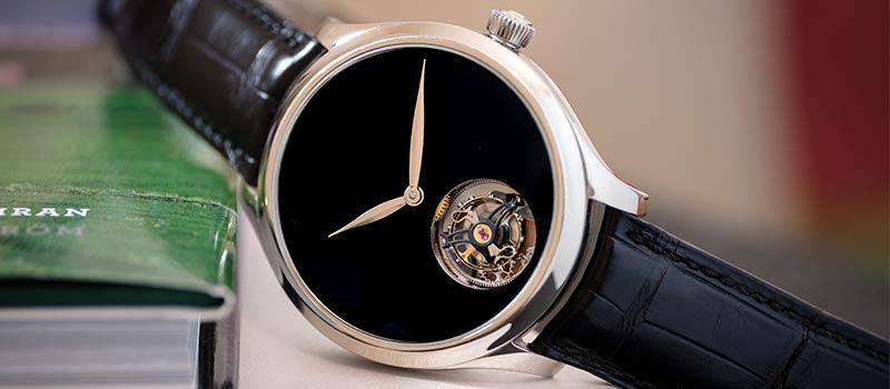 Часы H. Moser & Cie с парящим в бездне турбийоном