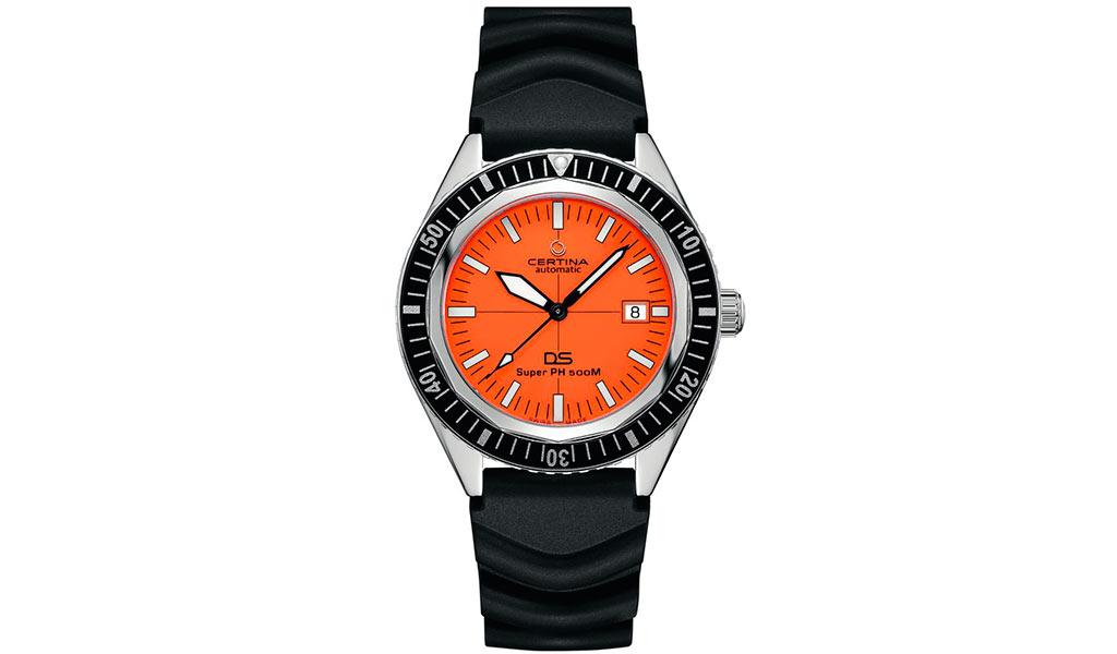 Дайверские часы Certina DS Super PH500M