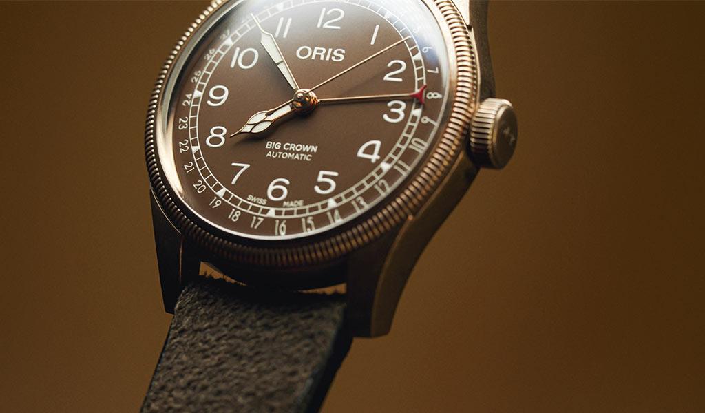 Часы из бронзы Oris