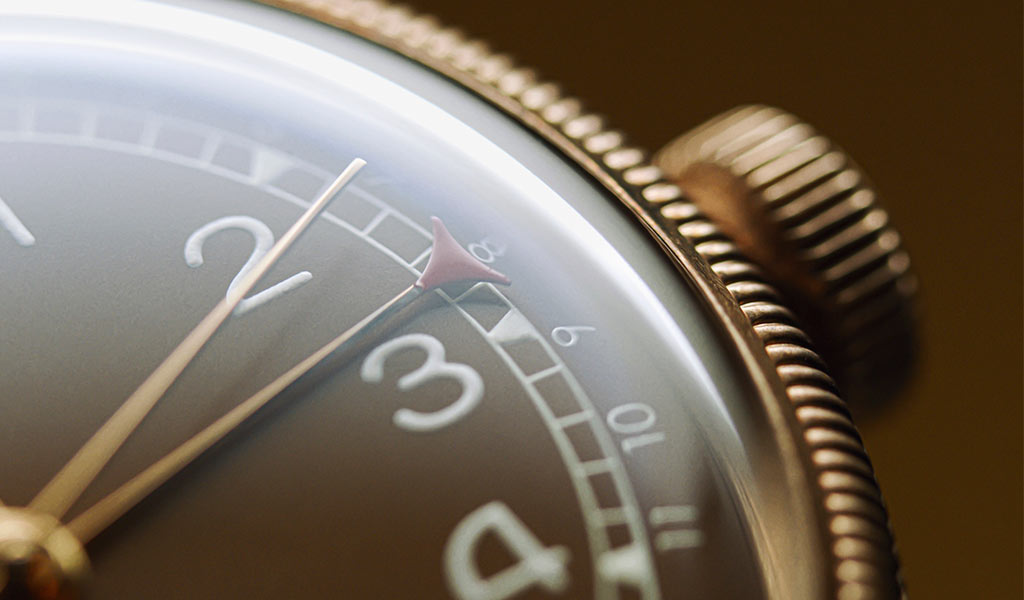 Часы Big Crown Bronze Pointer Date