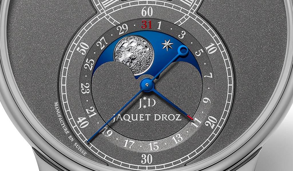 Новые наручные часы Grande Seconde Moon