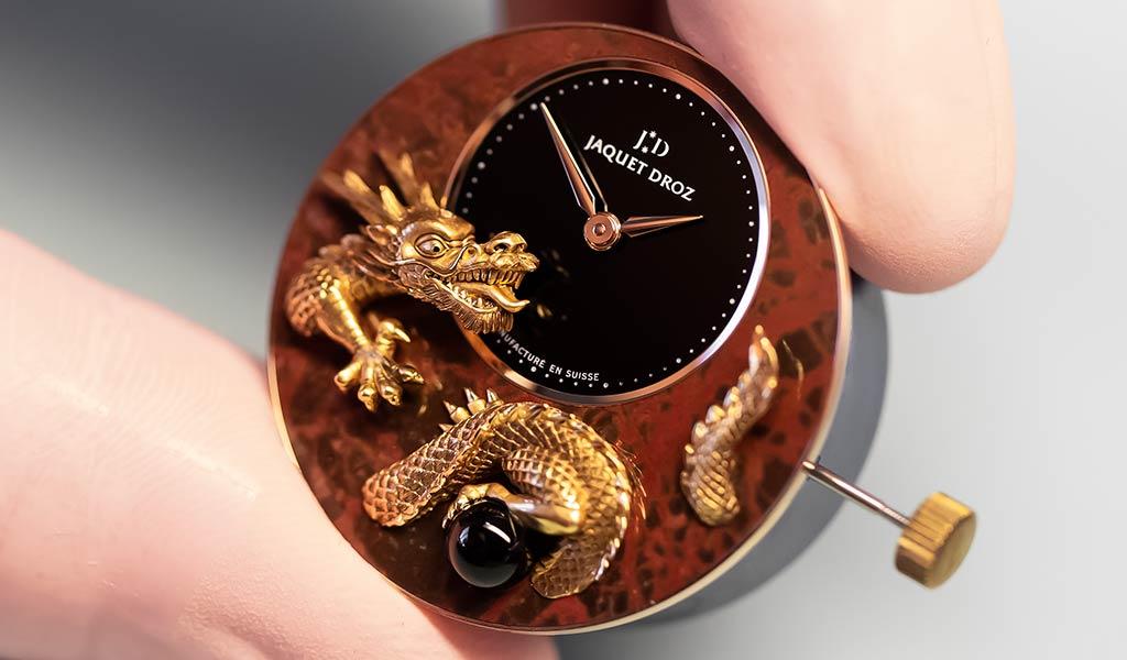 Наручные часы Petite Heure Minute Relief  Dragon