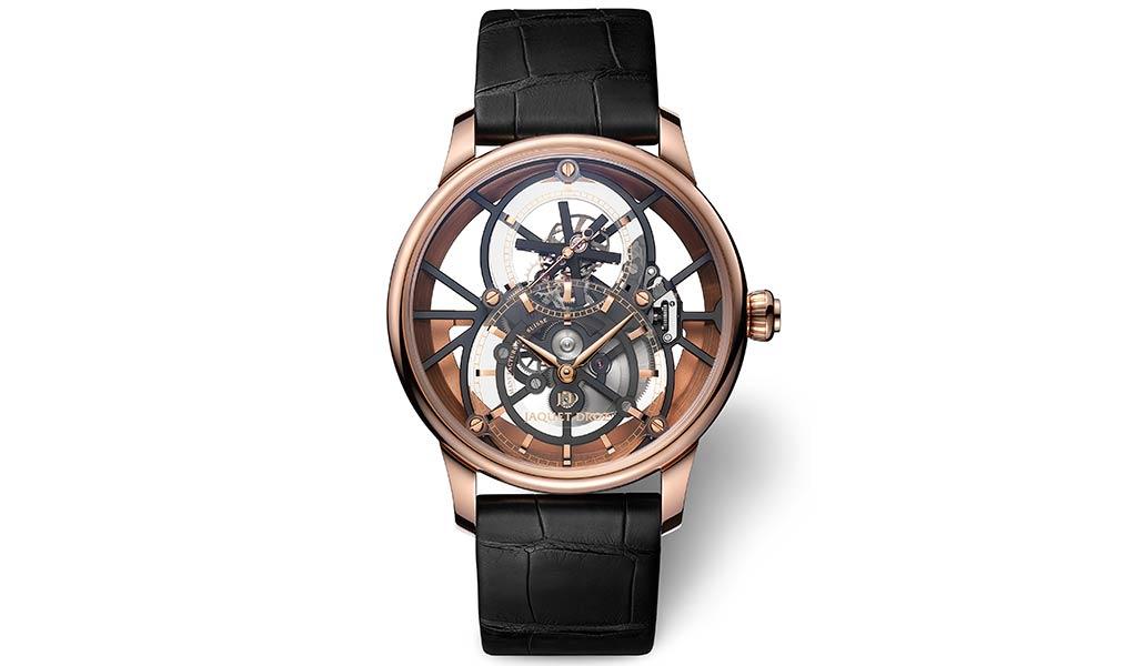 Новые швейцарские часы Grande Seconde Skelet-One Tourbillon от Jaquet Droz