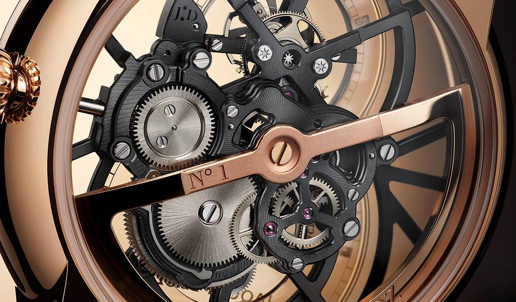 Механические часы Grande Seconde Skelet-One Tourbillon от Jaquet Droz