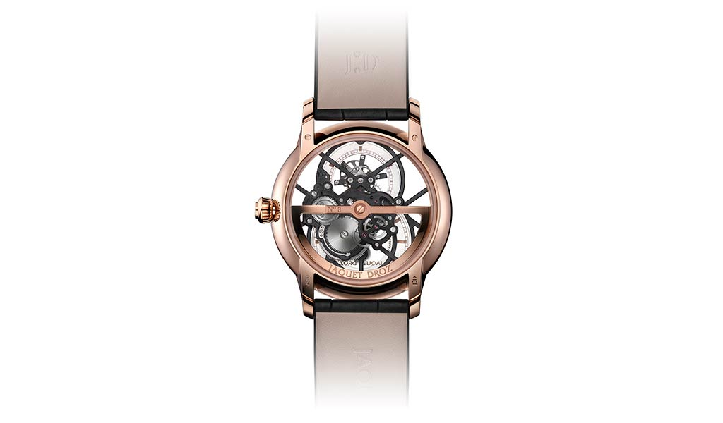 Новые наручные часы Grande Seconde Skelet-One Tourbillon от Jaquet Droz