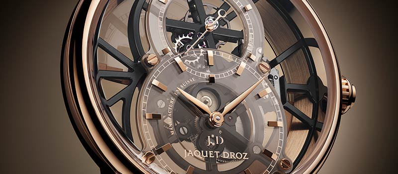 Grande Seconde Skelet-One Tourbillon: Jaquet Droz как архитектор света
