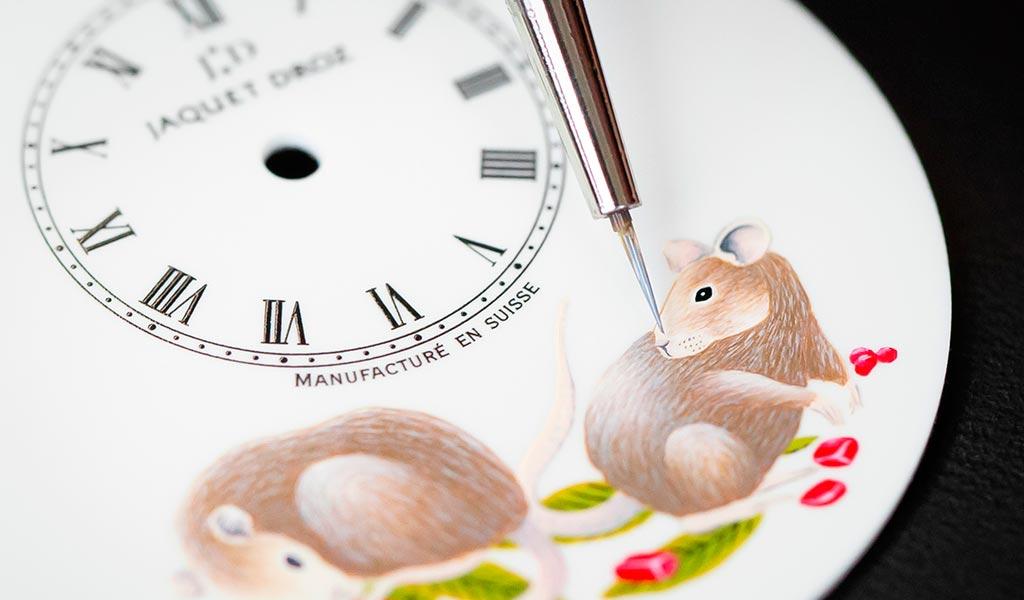 Циферблат Petite Heure Minute