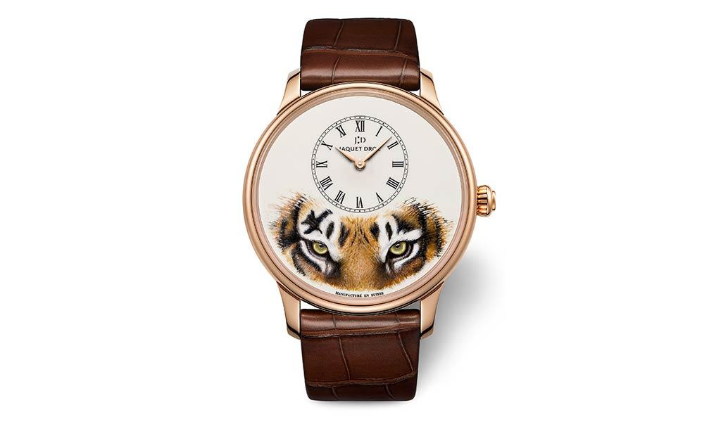 Наручные часы Petite Heure Minute Tiger