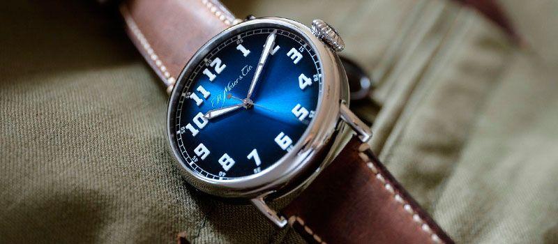 Часы в стиле ретро H. Moser & Cie