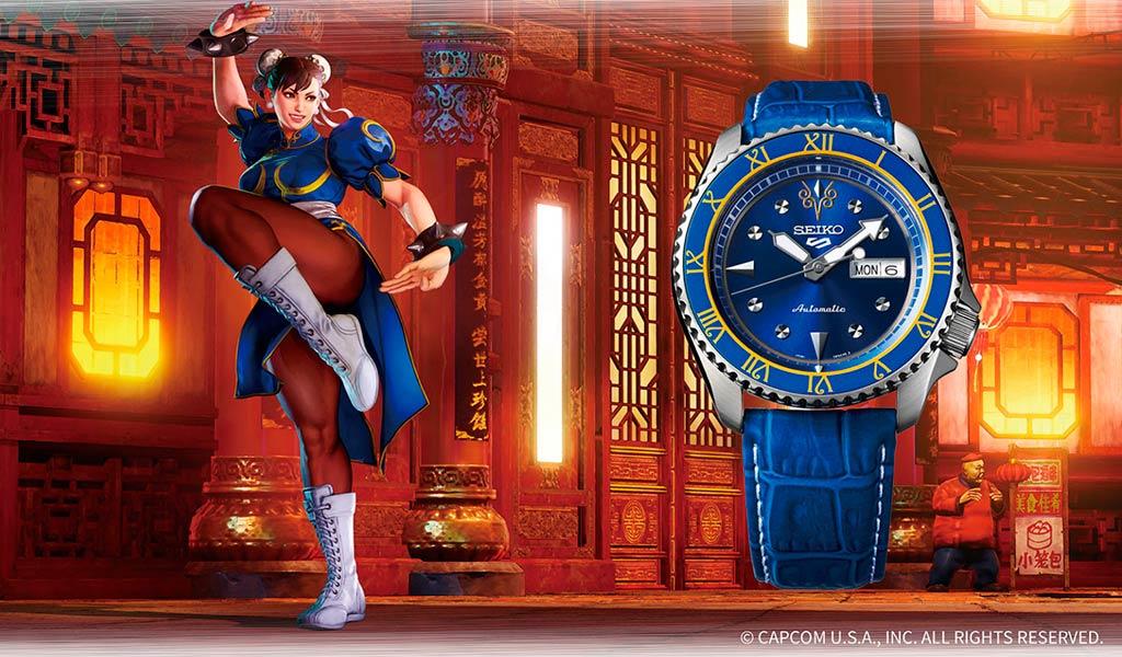Наручные часы Seiko Chun-Li