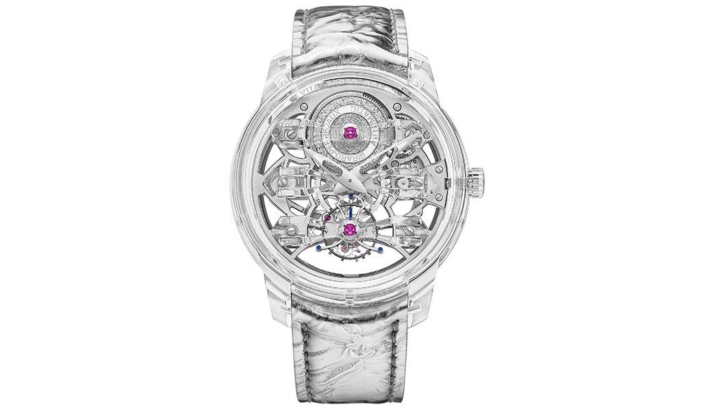 Сапфировые часы Girard-Perregaux