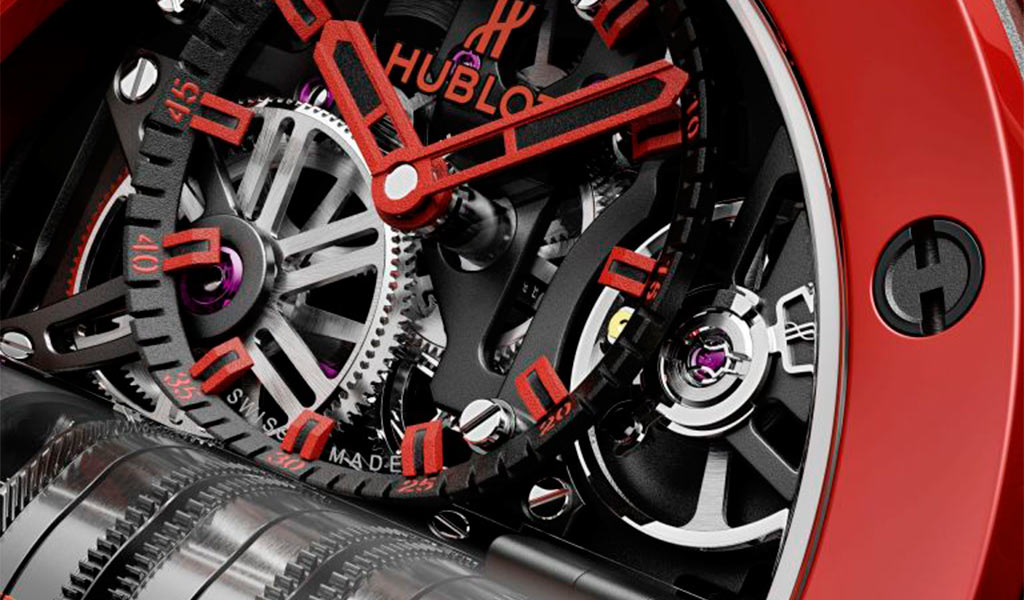 Наручные часы Hublot Big Bang MP-11 Red Magic