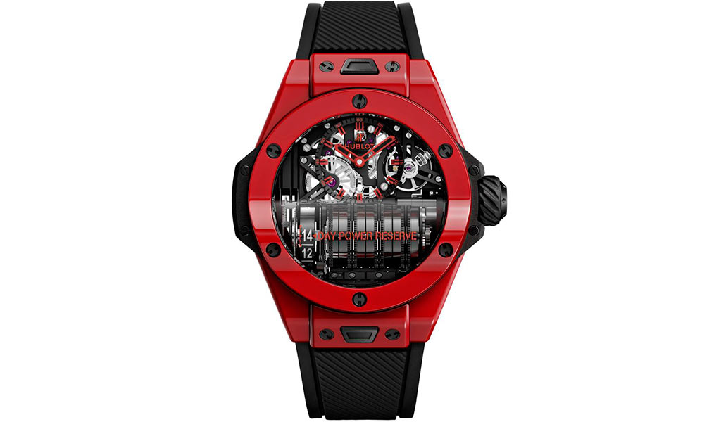 Часы Hublot Big Bang MP-11 Red Magic