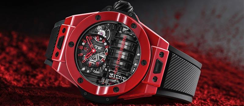 Новинка от Hublot наручные часы Big Bang MP-11 Red Magic