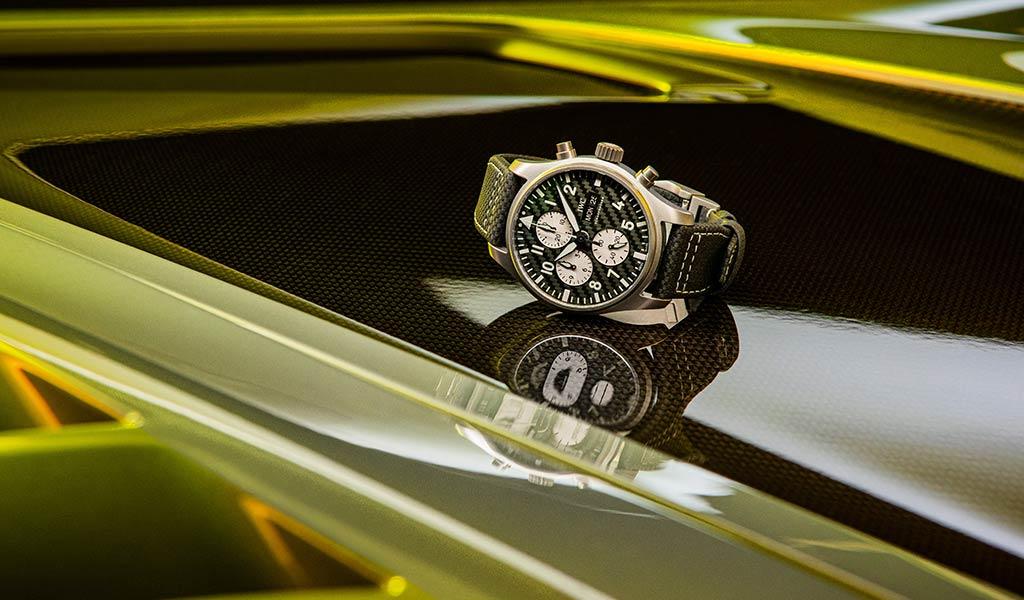 Новые швейцарские часы Pilot's Watch Chronograph Edition «AMG»