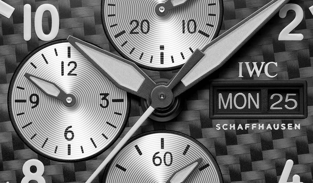 Швейцарские наручные часы Pilot's Watch Chronograph Edition «AMG»