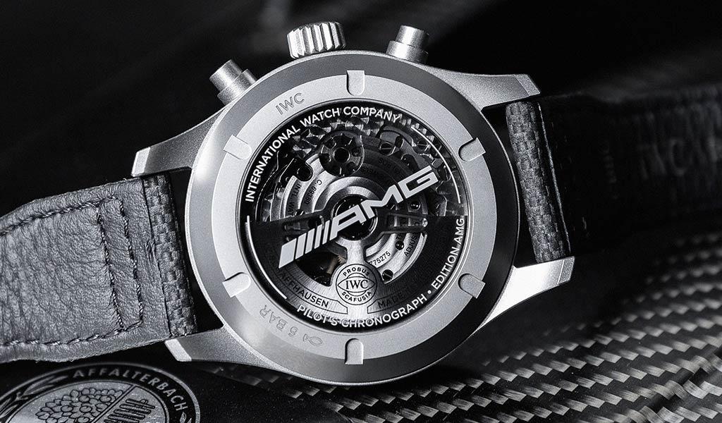 Швейцарские механические часы Pilot's Watch Chronograph Edition «AMG»