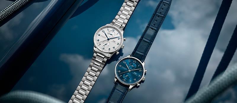 IWC Schaffhausen представляет новую модель Portugieser Chronograph с браслетом из нержавеющей стали