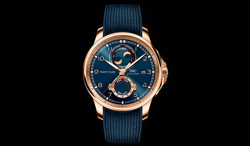 Наручные часы Portugieser Yacht Club Moon & Tide