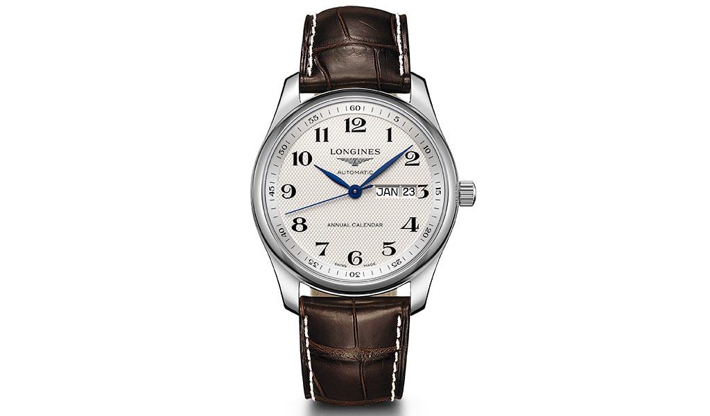 Часы с годовым календарем The Longines Master Collection