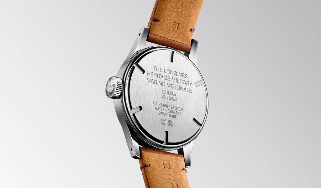 Наручные часы The Longines Heritage Military Marine Nationale