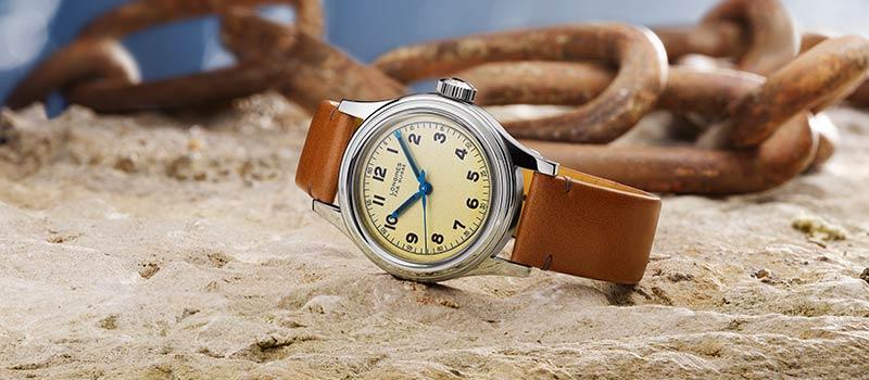 Наручные часы The Longines Heritage Military Marine Nationale: Longines поднимает паруса