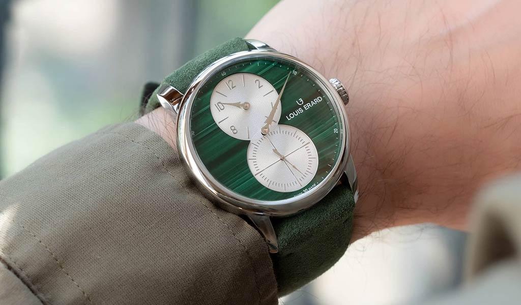 Новые механические часы Louis Erard