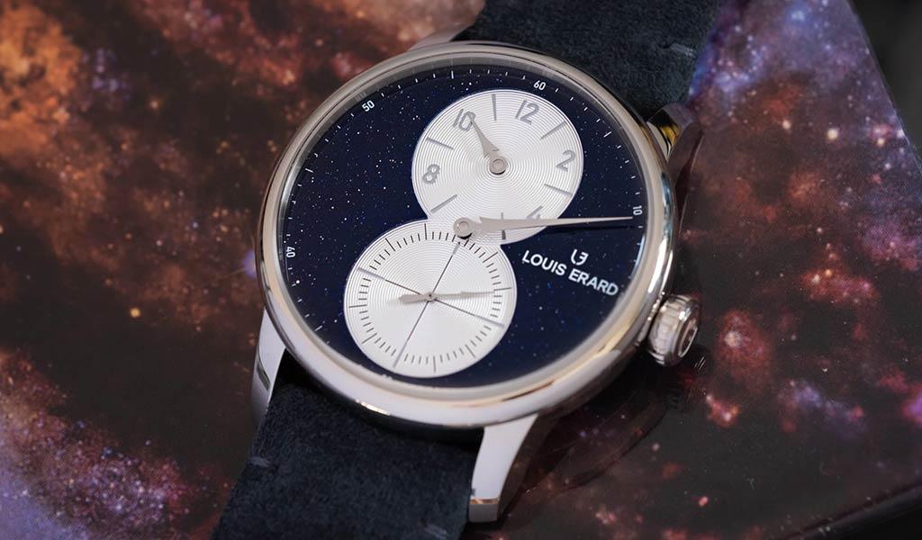 Новые швейцарские часы Louis Erard