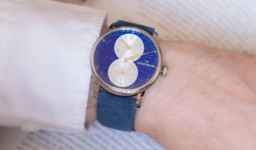 Швейцарские механические часы Louis Erard