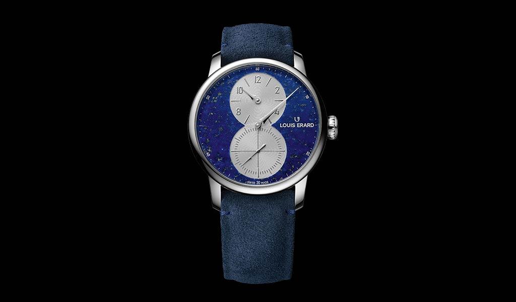 Новые швейцарские часы Excellence Regulateur Lapis-Lazuli