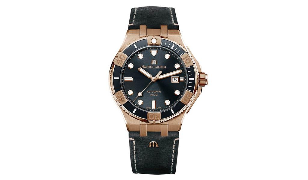Швейцарские часы из бронзы AIKON Venturer Bronze 43 мм