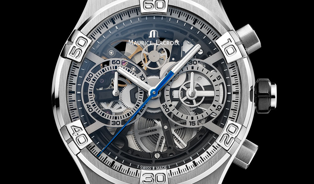 Часы AIKON Chronograph Skeleton