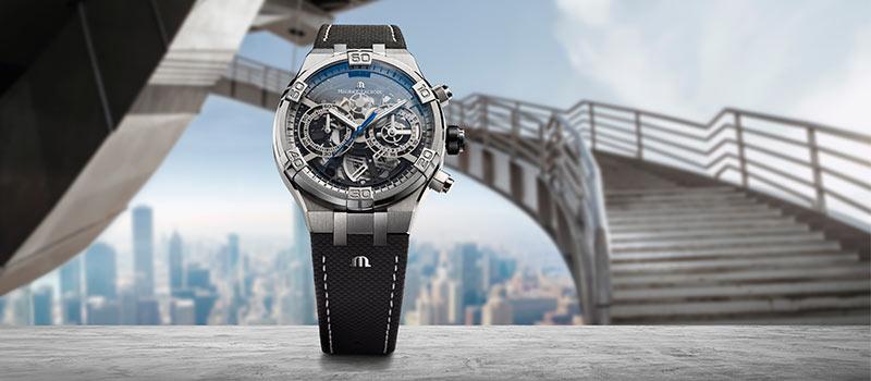 Новые наручные часы AIKON Chronograph Skeleton от  Maurice Lacroix