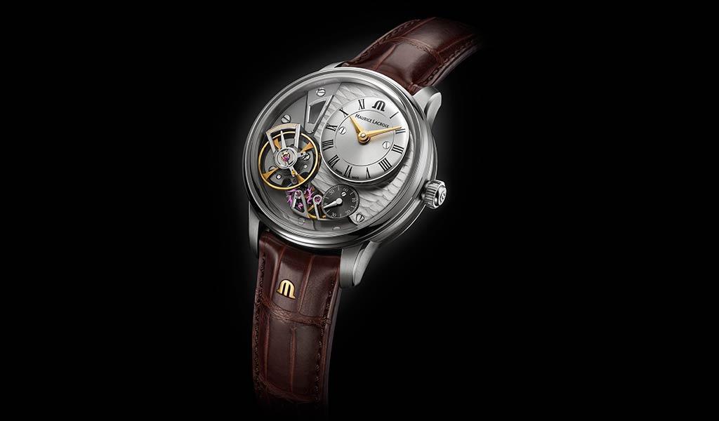 Новые механические часы Masterpiece Gravity
