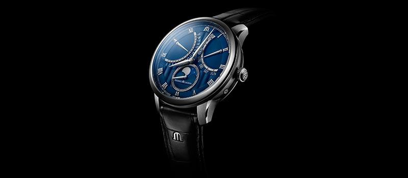 Новая модель часов с ретроградной индикацией Maurice Lacroix