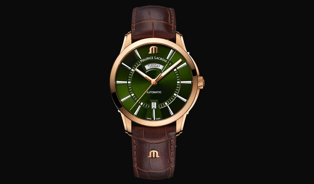 Новые наручные часы PONTOS Day-Date