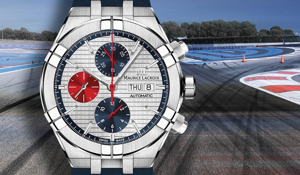 Швейцарские часы AIKON Automatic Chronograph Mahindra Racing