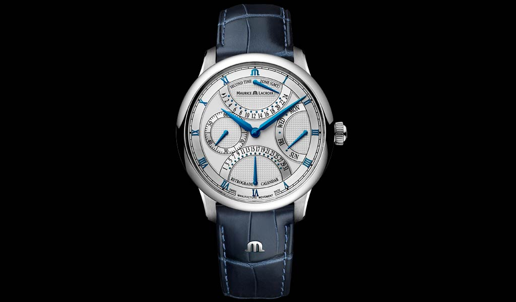 Новые наручные часы Triple Retrograde