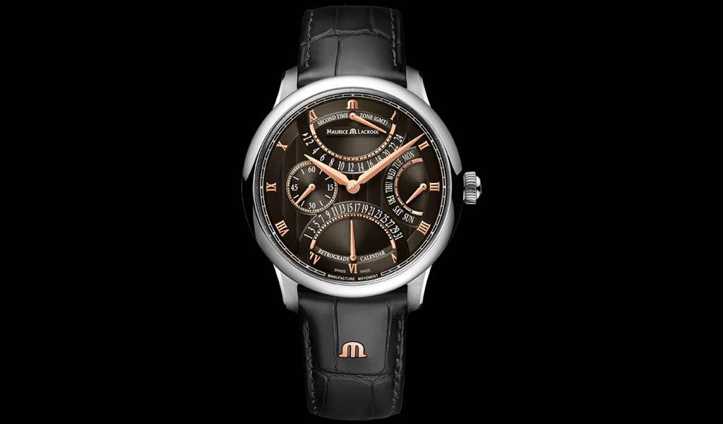 Новые наручные часы Masterpiece Triple Retrograde