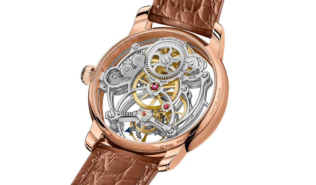 Часы с турбийоном Montblanc