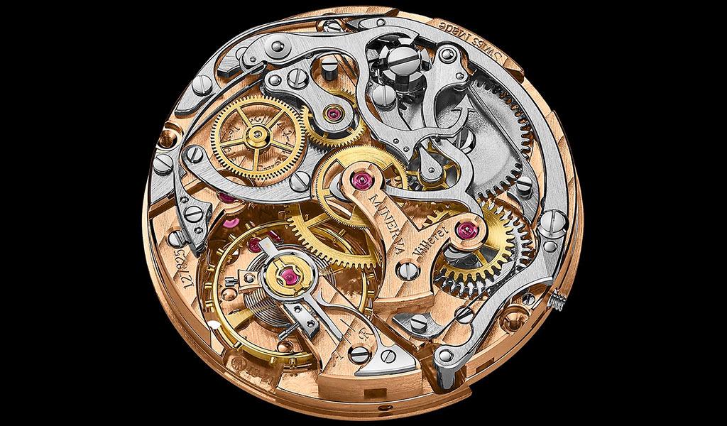 Механизм хронографа Heritage Manufacture Pulsograph